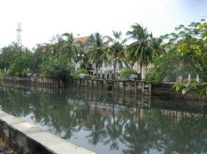 Canal in Yogjakarta