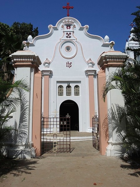 The St. Peters Church of Dutch design in Nagapattinam